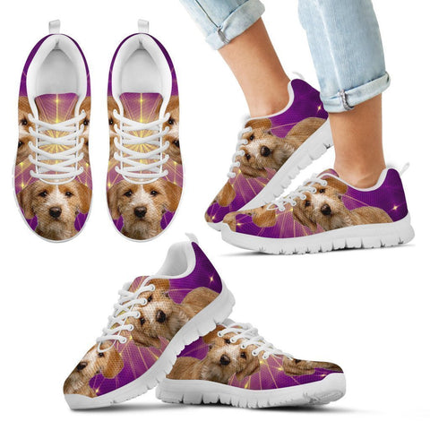 Basset Fauve de Bretagne Dog Running Shoes For Kids-Free Shipping-Paww-Printz-Merchandise