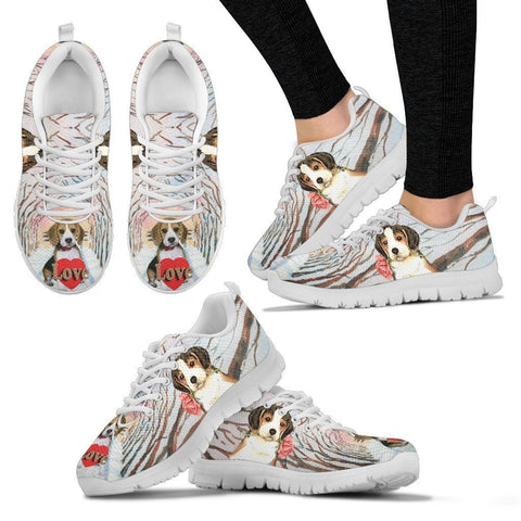 Valentine's Day Special-Beagle Dog Print Running Shoes For Women-Free Shipping-Paww-Printz-Merchandise