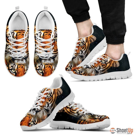 Tiger Print Running Shoe (Men And Women)- Free Shipping-Paww-Printz-Merchandise
