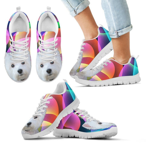 Westie Dog Running Shoes For Kids-Free Shipping-Paww-Printz-Merchandise