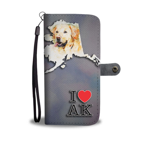 Labrador Retriever Dog Print Wallet Case-Free Shipping-AK State