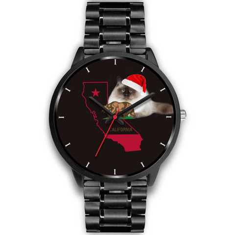 Birman Cat California Christmas Special Wrist Watch-Free Shipping