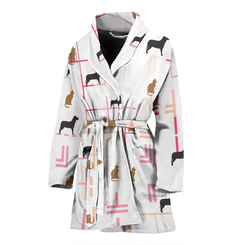 Amazing Patterns Print Women's Bath Robe-Free Shipping