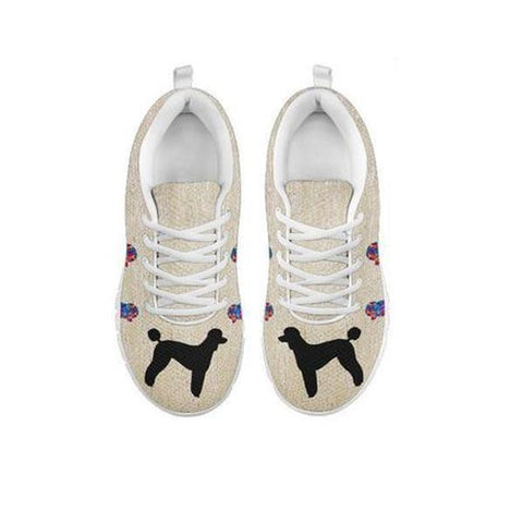 d8f7cae25927b Poodle Art Print Running Shoes For Women-Free Shipping-For 24 Hours Only-