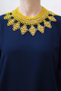 Collar Praga Amarillo