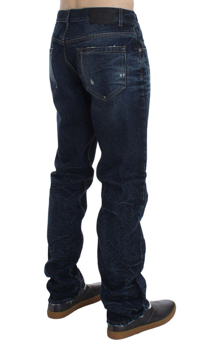 EXTE Jeans BLUE WASH COTTON REGULAR FIT JEANS