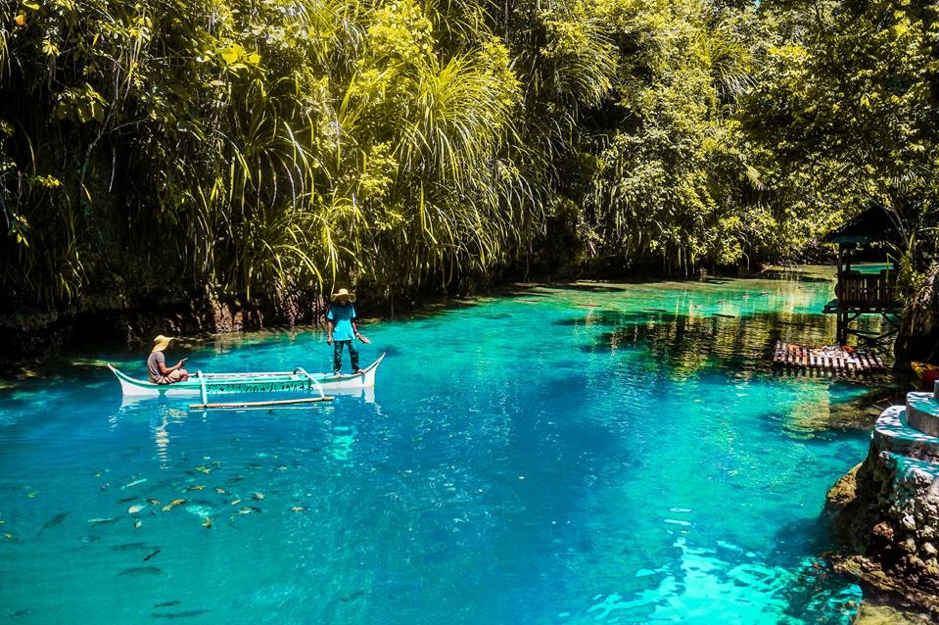Beautiful Enchanted Lake in Philippine