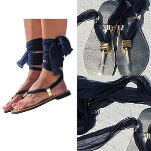 Summer Faux Leather  Plain  Criss Cross Sandals