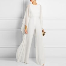 Sexy Solid Color Loose Speaker Jumpsuit