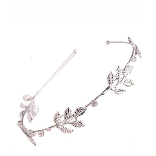 Metal Gold Leaf Boho Style Leaves Headband Hair Accessories