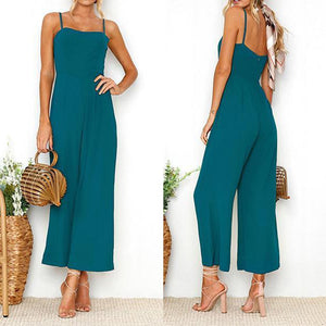 Women's New Strap Sexy Jumpsuit