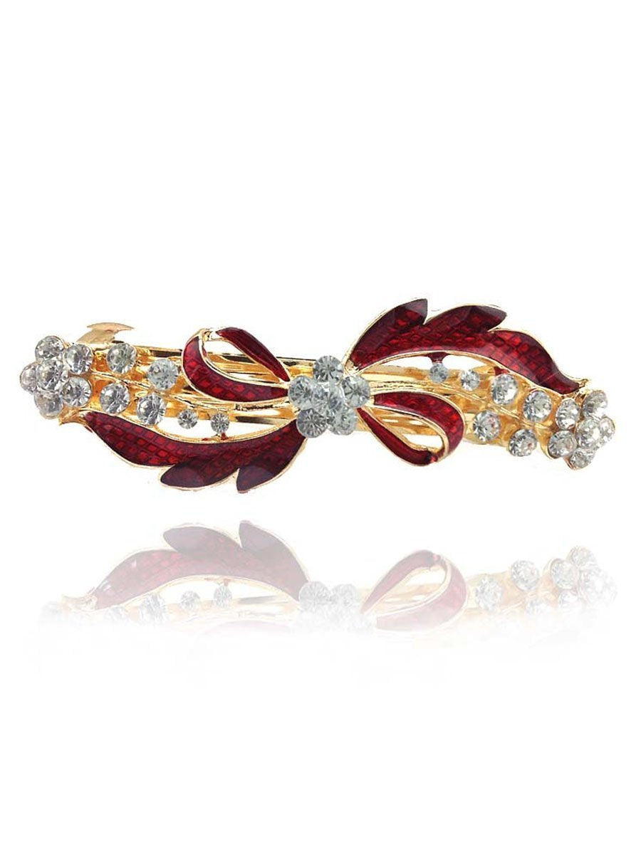 Rhinestone Bowknot Hair Accessories