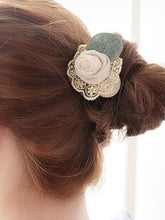 Candy Color Rose Shape Elastic Hair Accessories