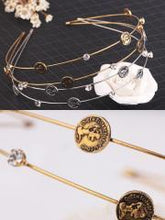 Layers Gold Coin Headband Hair Accessories