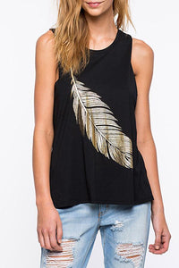Round Neck  Side Vented  Printed Vests