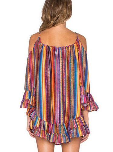 Sexy Sling Chiffon Shift Dress