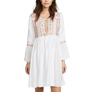 Elegant Cover Ups Vacation Dress