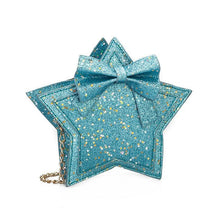 Star Prints Bowknot Decorated Crossbody Bag