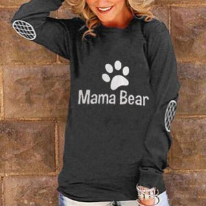 Mama Bear Maternity Long Sleeve Sweatshirt