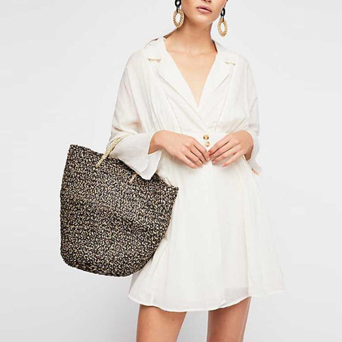 Elegant Lapel Flare Sleeve Button Plain Casual Dress