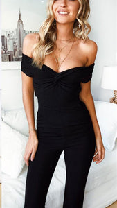 Sexy Chest Wrap Comfortable Casual Jumpsuits