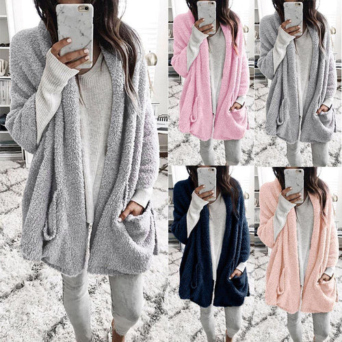 Round Neck Drawstring Plain Hoodies