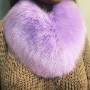 Fashion Warm Imitation Fox Fur Scarf Accessories