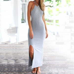 Sexy Open Backed Sling Dress