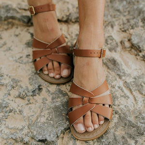 Pu Adjustable Buckle Summer Sandals