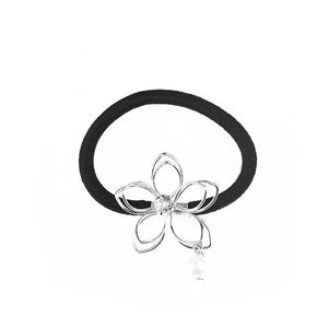 Hollow Out Flower Shape Elastic Hair Accessories