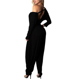 Fashion sexy and off-the-shoulder jumpsuits
