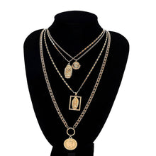 Female retro simple long sexy pendant necklace