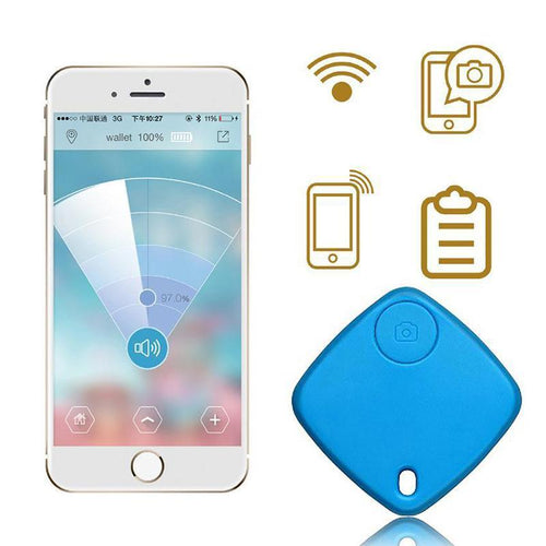 New Smart Tag Wireless Bluetooth Tracker Child Bag Wallet Pet Key Finder