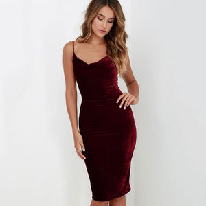 Sexy Strapless Dress With Hips