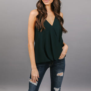 Halter  Backless  Plain Camis