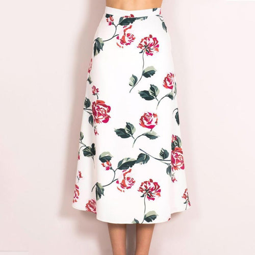 Printed Cute Long Skirt