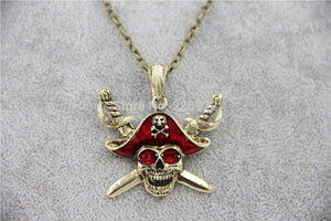 Gold & Red Pirate Chain