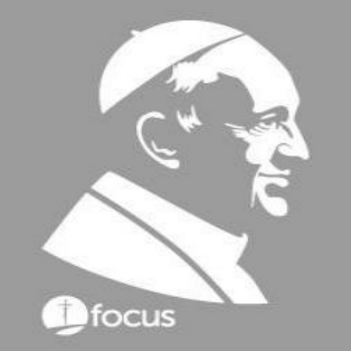 Pope Francis Sticker - White