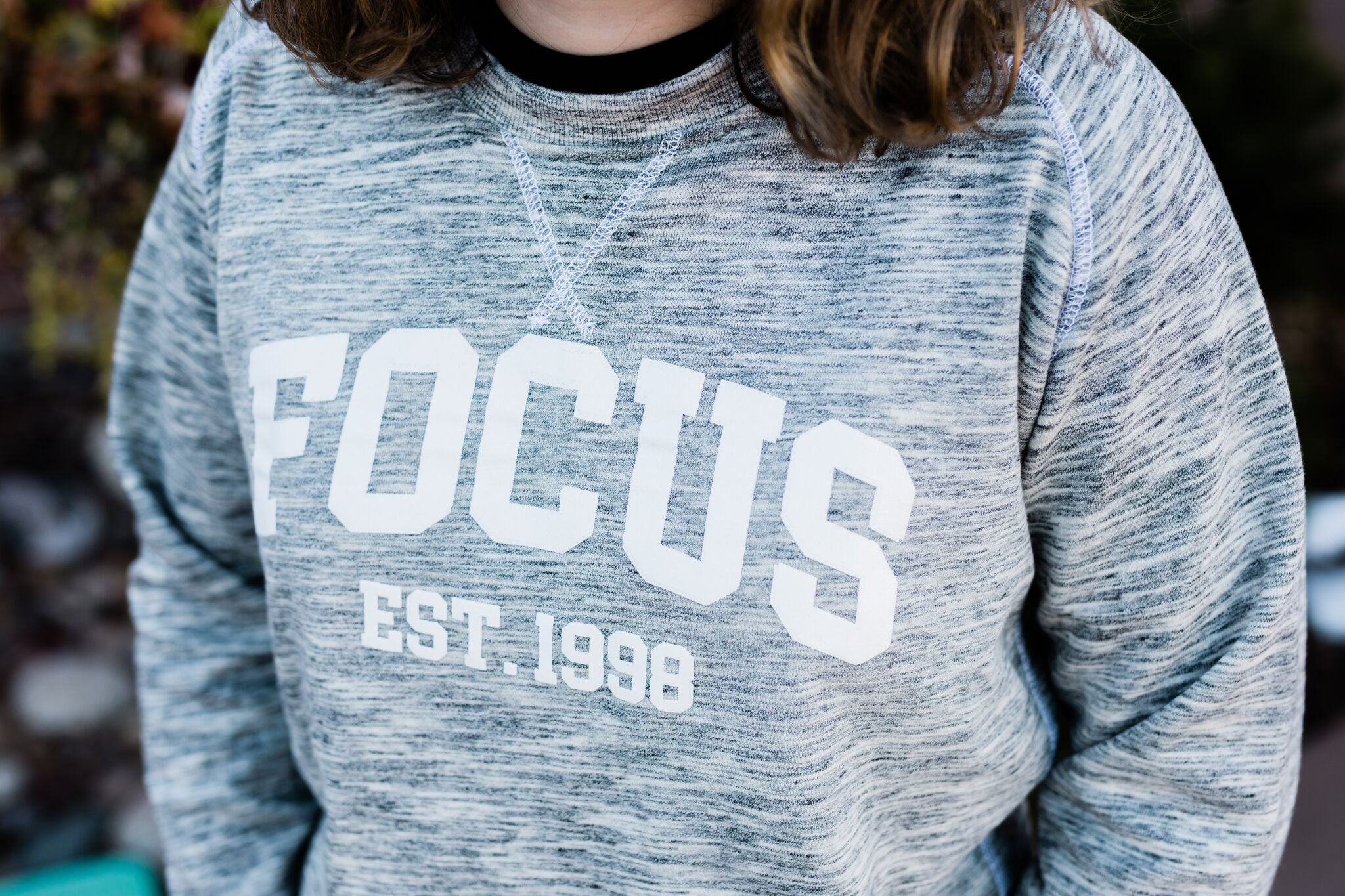 FOCUS Terry-Fleece Crewneck