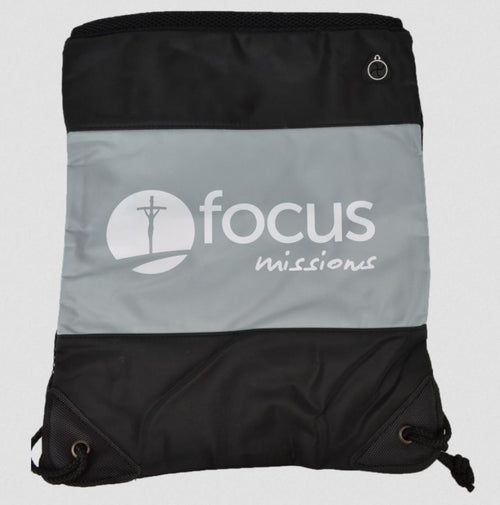 Focus Missions Drawstring Bag