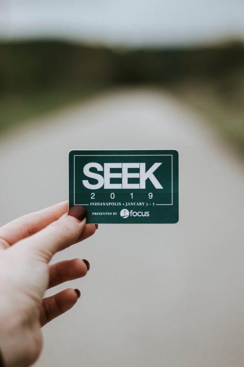 FOCUS SEEK 2019 Sticker - 50 Pack