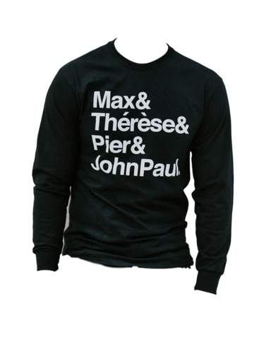 Saint Squad Crewneck Sweater - Black