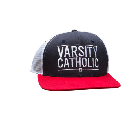 Women's Black Varsity Catholic Jogger