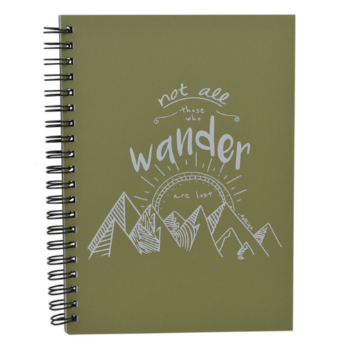 Journal,Not All Who Wander Are Lost