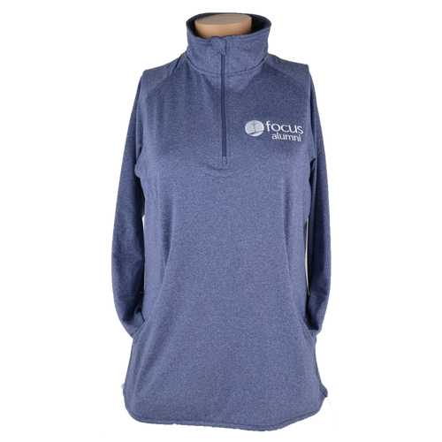 Women's Alumni 1/2 Zip Pullover - True Navy