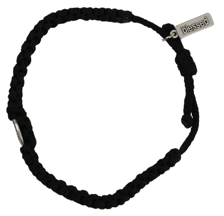 Men's One Blessing Bracelet - Black
