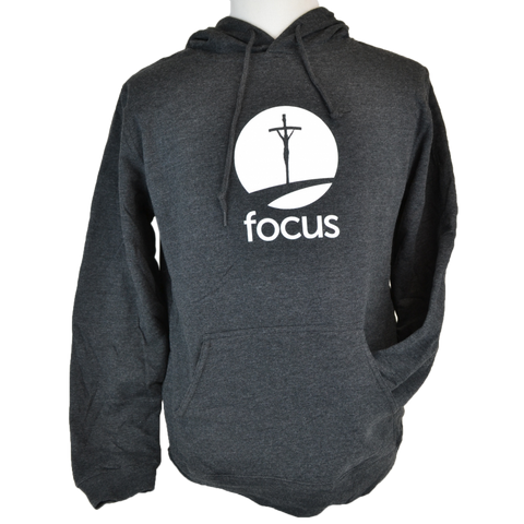 FOCUS Two-Tone Terry Fleece Hoodie