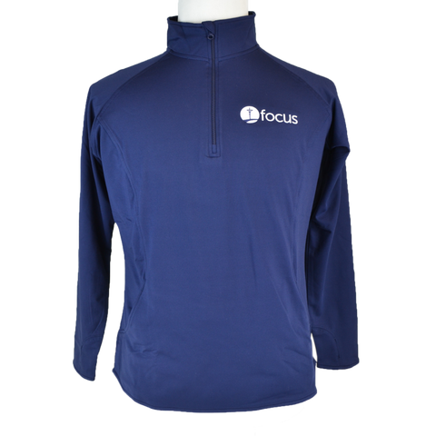 Women's FOCUS Adidas Climalite Polo, Navy