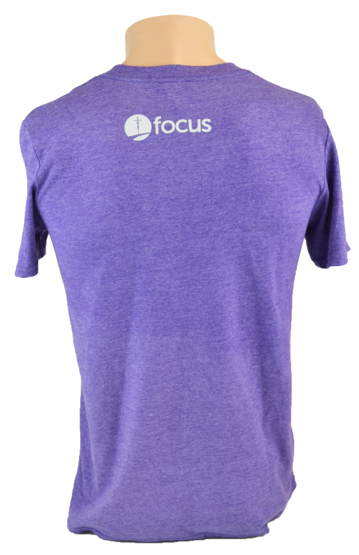 Pope Francis T-Shirt, Heather Purple