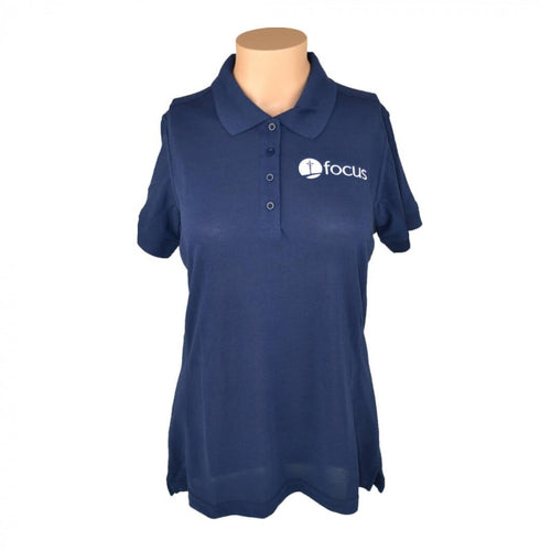 Women's Polo-Navy Blue